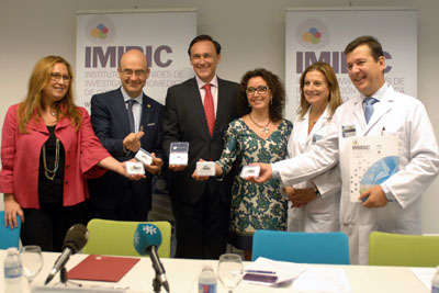 Responsables del IMIBIC presentan la Memoria del instituto de 2014