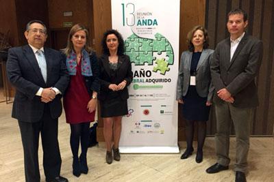 Ricardo Rojas, Marina Álvarez, María Isabel Baena, María Dolores Mora y Eduardo López