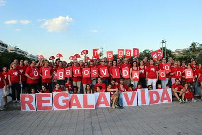 Con el lema 'Regala vida, dona órganos' arrancó la Marcha por la donación