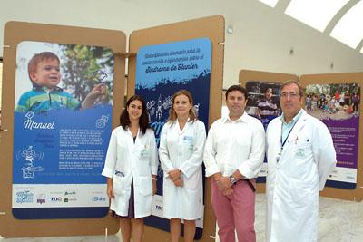 Mercedes Gil, Marina Álvarez, Manuel Fernández y Rafael Camino