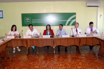 La consejera presenta el nuevo hito sanitario del Hospital Reina Sofía