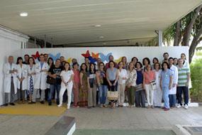 Profesores y profesionales que han participado en el curso