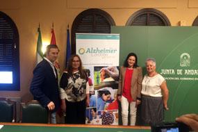 Foto de la presentación de Día Mundial del Alzhéimer