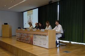 Un momento de la inauguración del encuentro sobre enfermedades raras