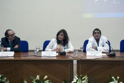 Manuel Pan, Pilar Pedraza y Mariano Ledesma