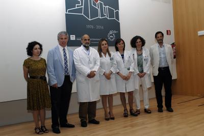 Organizadores del curso, docentes y responsables de hospital