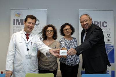 Justo P. Castaño, Mª Isabel Baena, Mª Teresa Roldán y Manuel Torralbo