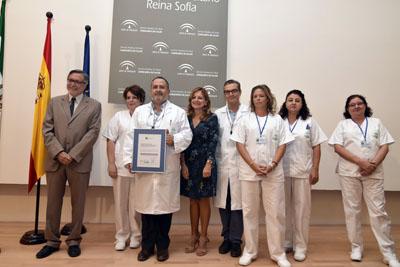 La UGC de Anatomía Patológica recibe la acreditacion de calidad