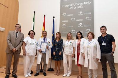 La UGC de Neurocirugía recibe su acreditación en calidad