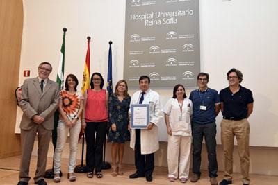 Profesionales de la UGC de Oncología Médica reciben la acreditación de calidad de la ACSA