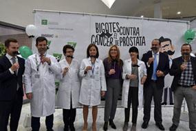 Responsables sanitarios, investigadores y la directiva del Córdoba CF se suman a Movember