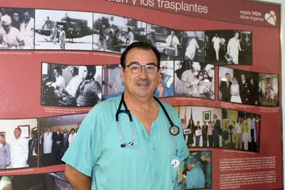 El coordinador de trasplantes Juan Carlos Robles es elegido como uno de los 25 embajadores de la sanidad española