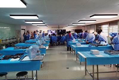 Un momento del curso celebrado en la Facultad de Medicina y Enfermería