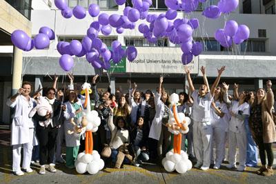 Profesionales, pacientes y familias celebran el Día Mundial del Prematuro