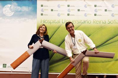 José Luis Gómez de Hita y Rosa Fernández participan en el Día Sin TAbaco