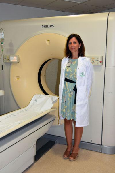 En la imagen 2, desde el año 2009 Elisa Roldán forma parte de la Unidad de Gestión Clínica de Radiodiagnóstico del hospital cordobés