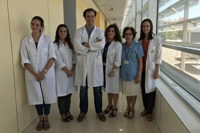 Algunos integrantes de la Unidad de Investigación de Neurología