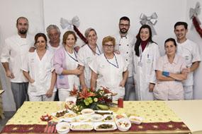 Profesionales de Cocina con el menú navideño