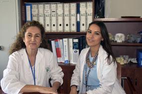 Las doctoras Alicia Dean y Miriam Estero