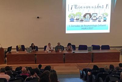 Inauguración de las I Jornadas de Reumatología Infantil del Hospital Reina Sofía