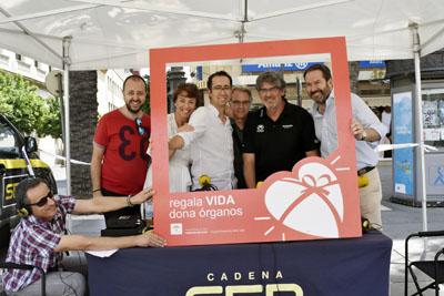 Equipo 'Hoy por hoy', Radio Córdoba, dedicado hoy a la donación