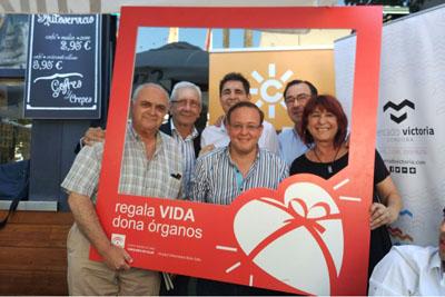 'Aquí estamos' celebra el Día del Donante desde el Mercado Victoria