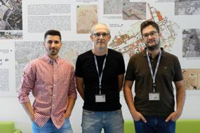 En la foto, de izquierda a derecha, Jorge Corpas, Juan Antonio Moriana y Mario Gálvez-Lara.