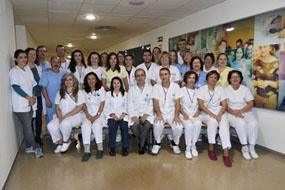 Equipo de profesionales de la UGC Microbiologia