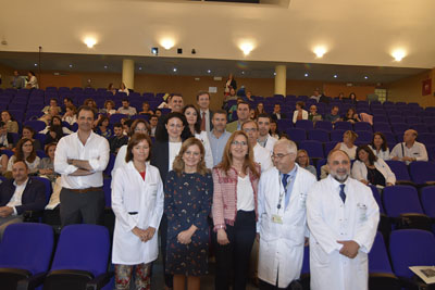 La consejera de Salud inaugura la I Jornada sobre antibioterapia domiciliaria