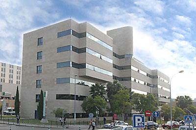 Editifico de Consultas Externas del Hospital Universitario Reina Sofía