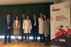 Responsables y organizadores del encuentro en la inauguración