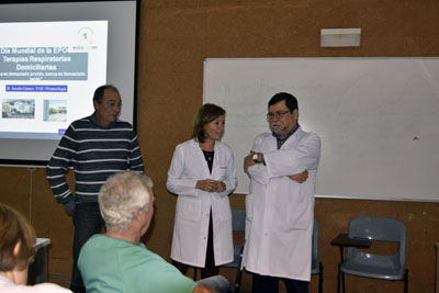 Valle García inaugura la jornada sobre EPOC