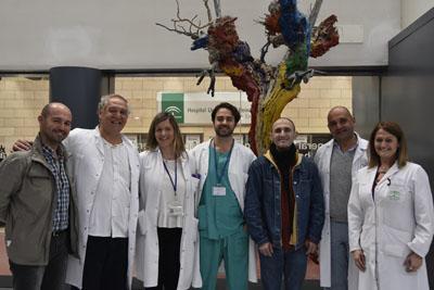 Profesionales de Otorrinolaringología del Hospital Reina Sofía, Logopedas, foniatra y pacientes
