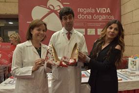 Valle García, José María Dueñas y Noelia Millares