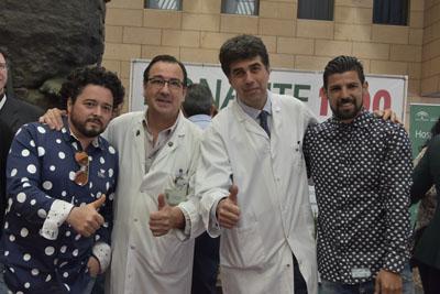 Rafael de Utrera, Juan Carlos Robles, José María Dueñas y Nolito