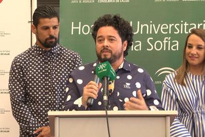 Rafael de Utrera ha dirigido unas palabras de agradecimiento a los donantes
