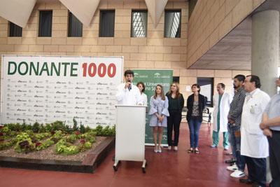 José María Dueñas recuerda el trabajo de todos los profesionales que han trabajado en la Coordinación de Trasplantes