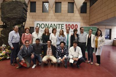 El Jardín Botánico ha donado plantas que forman el número 1000 en homenaje a los donantes