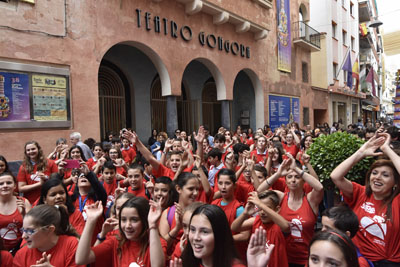 Alumnos de los centros Santa Victoria, Almedina y Concepción Arenal han participado en la actividad