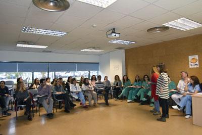 Profesionales del hospital se forman en el abordaje al duelo perinatal