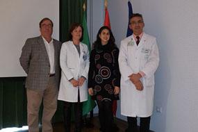 Rafael Camino, Valle García, Mercedes Gil y José López Miranda