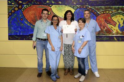 Equipo de profesionales que ha puesto en marcha el proyecto 'Tu Enfermera Online'