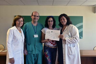 Responsables sanitarios con donan el premio a ACODAH