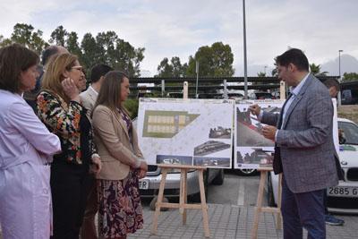 El arquitecto explica las fases y el interior de la escuela infantil