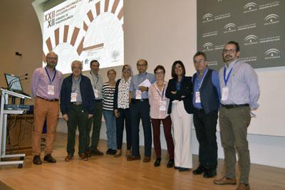 Profesionales del hospital y ponentes en las XXII Jornadas nacionales de Toxicología Clínica y XII Jornadas de Toxicovigilancia
