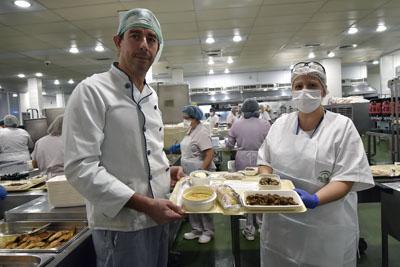 Durante toda la semana se homenajeará a la gastronomía de la provincia con platos tipicos para los pacientes