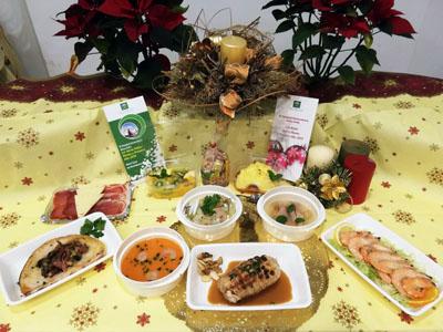 Menús especiales Navidad Hospital Reina Sofía