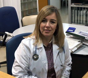 Natalia Pascual. Neumóloga del Hospital Reina Sofía