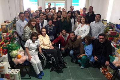 Hospital Los Morales campaña navidad