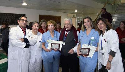 La segunda B y C de Cardiología premiadas